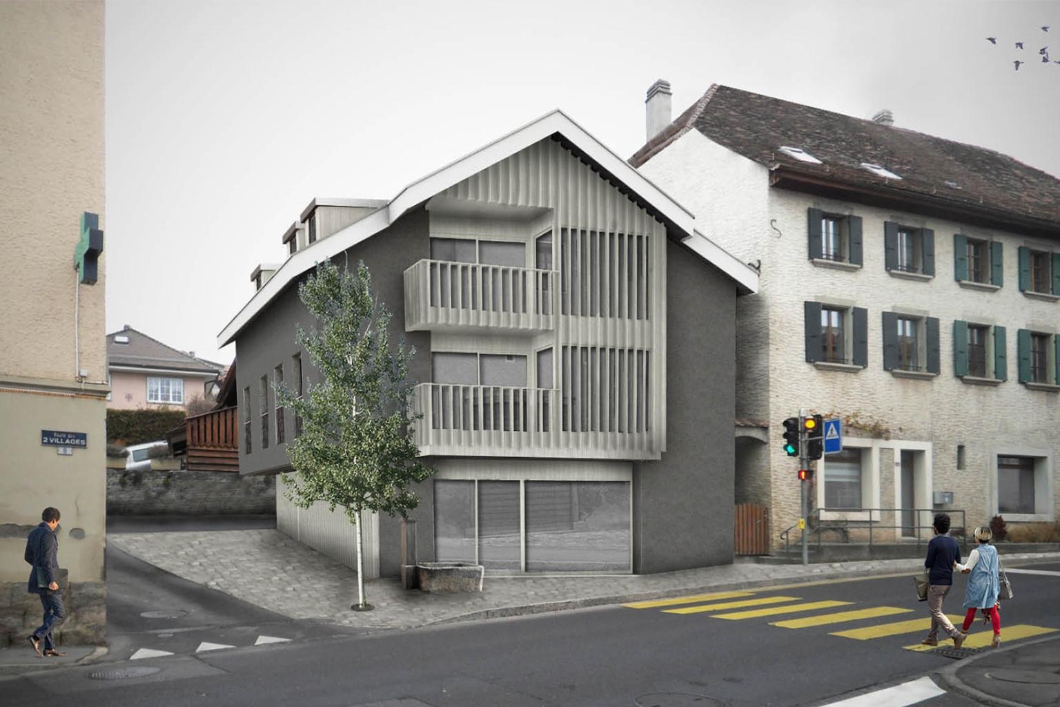 Bureau Architecture Vevey : Architecture sàrl bureau d architecture rue d italie à